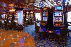 Kasino för kryssningskepp Royaltyfria Foton
