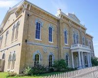 Kasino Hall i Lalantgården Texas arkivbilder