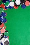 Kasino-Hintergrund lizenzfreie stockfotos