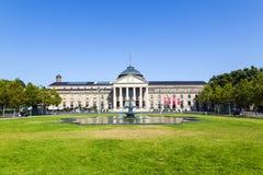Kasino i Wiesbaden/Tyskland Royaltyfri Bild