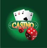 Kasino-Konzept des Entwurfes Stockfoto