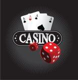 Kasino-Konzept des Entwurfes Stockbild
