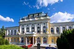 Kasino kulturell und Konferenzzentrum in Marianske Lazne - Tschechische Republik stockbilder