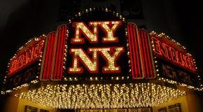 Kasino Las Vegas New- Yorknew york Stockfoto