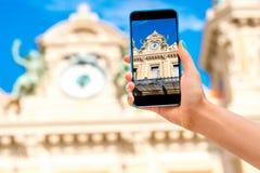 Kasino in Monte Carlo Lizenzfreie Stockbilder