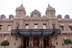 Kasino Monte - carlo, Monaco Royaltyfria Bilder