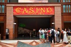 Kasino på ön av Sentosa, Singapore Royaltyfria Foton