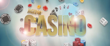 kasino Poker-Kasino kardiert 3d übertragen Lizenzfreie Stockfotos
