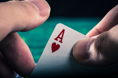 Kasino-Pokerbild Lizenzfreies Stockbild