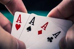 Kasino-Pokerbild Lizenzfreies Stockfoto