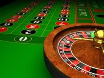 Kasino-Roulette Lizenzfreies Stockfoto