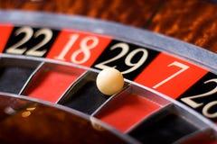 Kasino-Roulette, 29 Gewinne Lizenzfreies Stockbild
