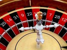 Kasino-Roulette Lizenzfreie Stockfotografie