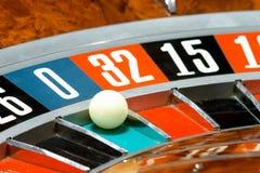 Kasino, Roulette Stockbild
