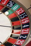 Kasino-Roulette stockfoto