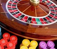 Kasino-Roulette Lizenzfreies Stockbild