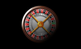 Kasino-Roulettekessel Stockfotografie