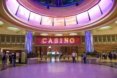 kasino singapore Royaltyfri Bild