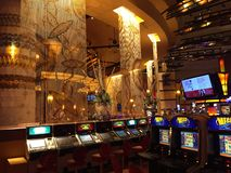 Kasino u. Hotel Mohegan Sun in Connecticut Stockfoto