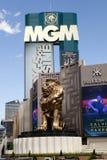 Kasino und Hotel Mgm Grand Las Vegas in Las Vegas, Nevada Stockbilder