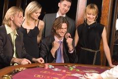 Kasino und Jugend Lizenzfreie Stockfotografie