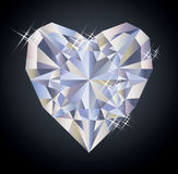 Kasinobakgrund med beståndsdelen för hjärtadiamantpoker Royaltyfri Fotografi