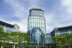 Kasinobyggnad i Niagara Falls Royaltyfri Foto