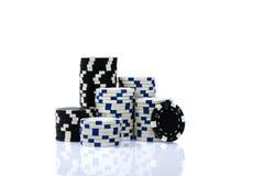 Kasinochips Stockfotografie