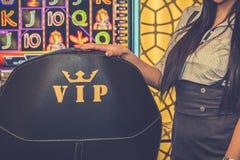 Kasinodobbleribegrepp royaltyfri bild
