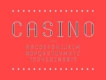 Kasinoguß Elemente für das Scrapbooking lizenzfreies stockfoto