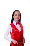 Kasinohändler getrennt Lizenzfreies Stockfoto