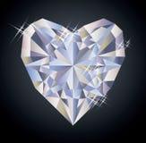 Kasinohintergrund mit Herzdiamant-Pokerelement Lizenzfreie Stockfotografie