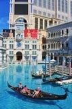 kasinohotell venetian Las Vegas Royaltyfri Bild