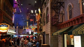 kasinohotelllas nya vegas york Arkivbilder