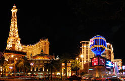 kasinohotelllas paris vegas Royaltyfria Foton