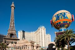 kasinohotelllas paris vegas Royaltyfri Fotografi