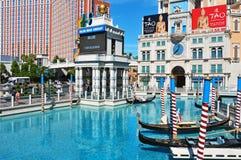 kasinohotelllas tillgriper venetian vegas Royaltyfri Bild