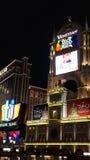 kasinohotelllas tillgriper venetian vegas Arkivfoton