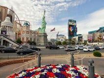 kasinolas nya vegas york Arkivbilder