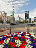 kasinolas nya vegas york Royaltyfri Foto