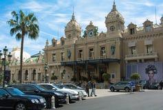 Kasinomonte - carlo Monaco Royaltyfria Foton