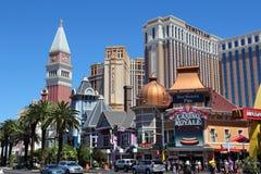 kasinon Las Vegas Royaltyfria Foton