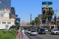 kasinon Las Vegas Royaltyfri Fotografi