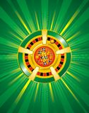 kasinot chips vektorn Royaltyfri Bild