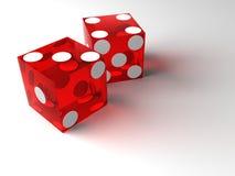 kasinot matris red Arkivfoton