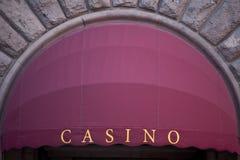 Kasinotecken Fotografering för Bildbyråer