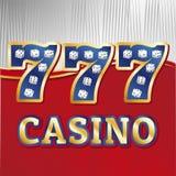 Kasinowürfelsatz Lizenzfreie Stockfotografie