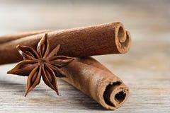 Kasje także znać jako Cinnamomum chińczyk i Gwiazdowy anyż obrazy stock