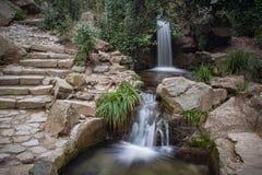Kaskad av vattenfall Royaltyfria Bilder