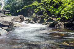 Kaskad i nationalpark Arkivbild